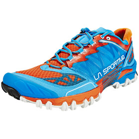 La Sportiva Bushido Running Shoes orange/blue